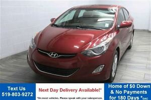2012 Hyundai Elantra GLS 6-SPEED! SUNROOF! HEATED FRONT&REAR SEA
