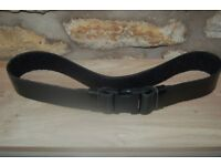 Police Utility Kit Tactical Leather Belt