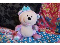 Vintage Smoochies Soft Toy Bear Plush 1999 TV Toys