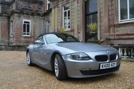 Grey BMW Z4 for sale, Low Mileage and excellent condition