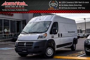 2017 Ram Promaster NEW Car|High Roof|RearCam|Cruise|Bluetooth|A/