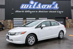 2012 Honda Civic LX  $41/WK, 4.74% ZERO DOWN! BLUETOOTH! POWER P
