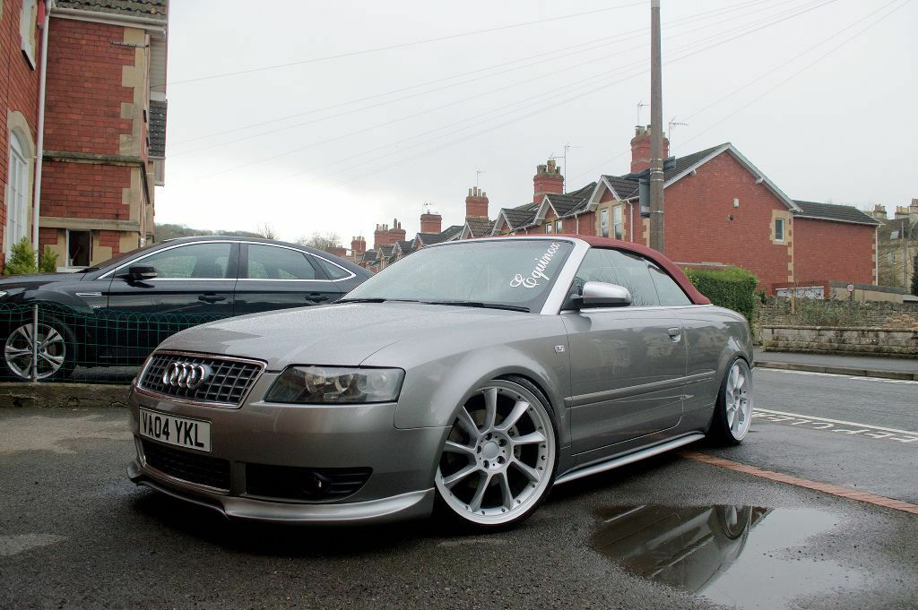 audi a4 1 8t convertible s4 rep hybrid turbo modified in bath somerset gumtree. Black Bedroom Furniture Sets. Home Design Ideas