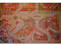 Child's transport rug