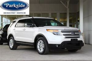 2014 Ford Explorer XLT 4WD 7 passenger with Leather, Navigation