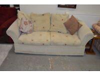 Cream 2 Seat Sofa - GT 070