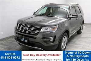 2016 Ford Explorer XLT 4WD V6! LEATHER! SUNROOF! REVERSE CAMERA!