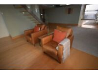 John Lewis leather armchairs, other furniture & office furniture