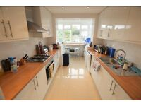 stunning three double bedroom flat which has been completely refurbished throughout.