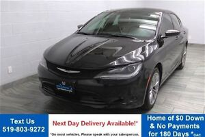 2015 Chrysler 200 S AWD w/ PARTIAL LEATHER! HEATED SEATS! ALLOYS