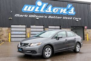 2013 Honda Civic LX HEATED SEATS! STEERING RADIO CONTROLS! CRUIS