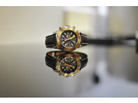 2015 Breitling Superocean Chronograph II Rose Gold Watch Warranty- Swap Rolex Submariner