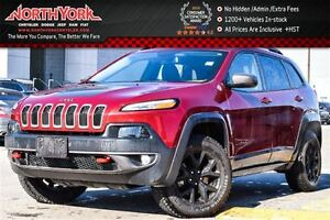 2016 Jeep Cherokee Trailhawk|4x4|SafetyTec,ColdWthr,LeatherPkgs|