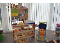 Childrens play shop