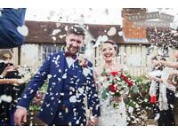 £100 off 2018 wedding photography