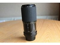 SIGMA ZOOM 80-200MM F4.5-5.6 ZOOM MACRO CAMERA LENS