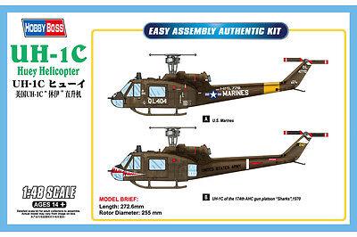 HOBBYBOSS® 85803 UH-1C Huey Helicopter in 1:48