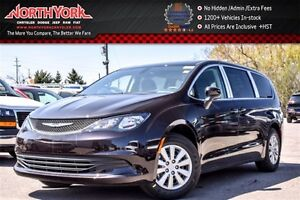 2017 Chrysler Pacifica New Car LX|RearDVD|RearCam|ParkSense|Blin