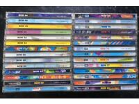 LARGE SELECTION (28) NOW THATS WHAT I CALL MUSIC CDs