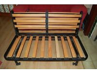 FUTON SOFA DOUBLE BED & MATTRESS