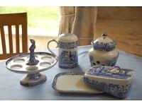 Spode Italian Blue table/kitchen ware