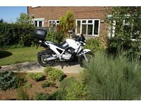 BMW F650 Adventure Bike in great condition for year; a completely reliable, go-anywhere bike