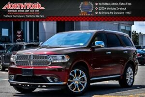 2016 Dodge Durango Citadel AWD|6-Seater|Leather|Nav|Sunroof|Back