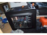 Coolermaster Custom Gaming PC Windows 10 1TB 6GB i7 RAM LED