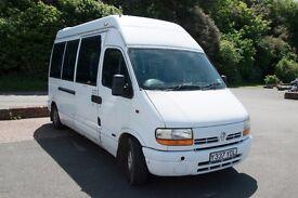 Renault Master 2001 17 Seater Minibus