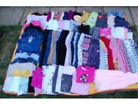 Girls bundle size 4-5 years 73 items