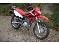 Honda XR 125 motorbike