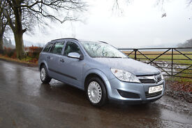 Very Rare Vauxhall Astra 1.7CDTI Estate – New MOT, New Timing Belt Excellent Condition