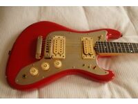 Vintage electric guitar - Alfredo Bugari, Italy - '80s - Fender homage