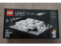 FS: Sealed & Signed BNIB Lego 4000010 Lego House