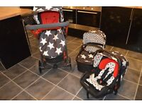 Cosatto Giggle (All Star) Travel System / Pram / Stroller / Car Seat