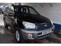 Toyota RAV4 2002 In excellent condition 94000 miles MOT until May 2017