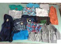 Bundles of boys clothes 12-18months