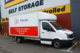 Urgent and Reliable 24/7 Man And Van Removal Delivery Luton Van