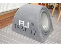 Fli 12 inch subwoofer speaker and box