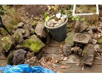 Assorted Rockery Stones. Free for collection only.