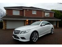Mercedes E250 CDI BLUEEFFICIENCY S/S SPORT (white) 2013