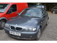 BMW 2002 318i Breaking for Parts