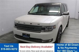 2016 Ford Flex AWD LIMITED w/ LEATHER! NAVIGATION! PANORAMIC ROO
