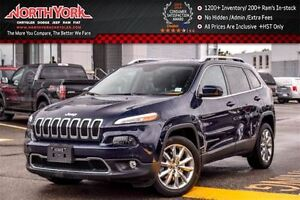 2016 Jeep Cherokee Limited Nav|R.Start|Leather|HTD Frnt Seats|Bl