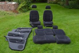 VW Bora 130SE/ Golf Seats and door cards. 2002 Model