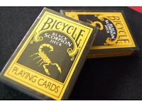 Bicycle Scorpion Deck Poker Playing Cards - with 4 Gaff cards - Perfect for magic tricks