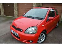 Red Toyota Yaris TSport - great condition!