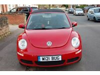VW Beetle Convertible 1.6 Luna - Red