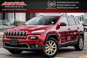 2016 Jeep Cherokee Limited 4x4|Pano_Sunroof|Nav|Leather|Keyless_