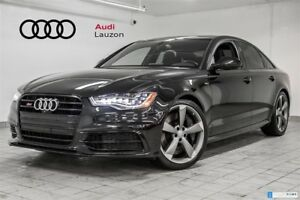 2015 Audi S6 4.0T BLACK OPTICS 20'' NAV LED